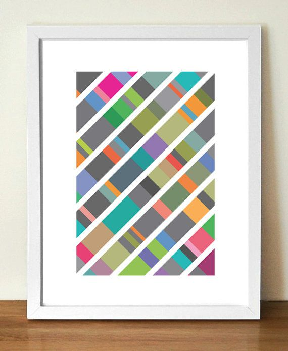 Abstract Print, DNA art, Geometric art,Wall Decor, Abstract Art ...