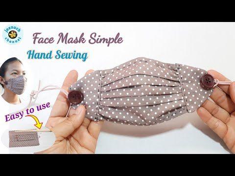 Photo of Face Mask Sewing Tutorial | Making a Summer Mask Hand Sewing หน้ากากอนามัยทำเองแบบง่าย เย็บมือ