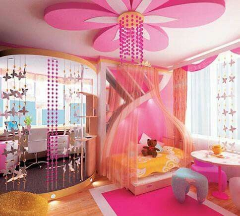 Pink Baby Room Baby Pinterest Ceiling False Ceiling Design