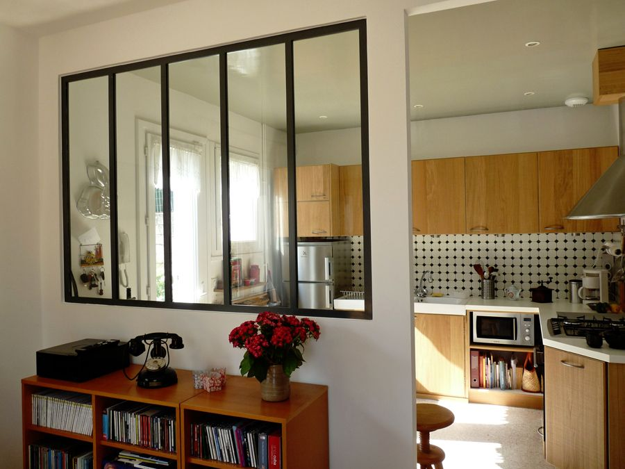 verri re d 39 int rieur pour la cuisine verri re interior window pinterest salons. Black Bedroom Furniture Sets. Home Design Ideas