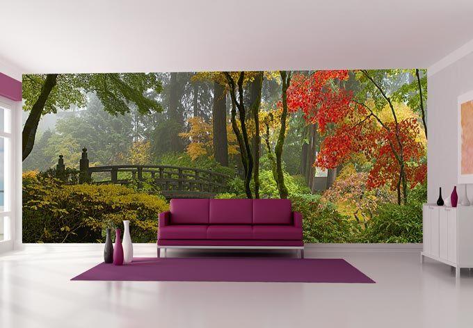 Fototapete Japanischer Garten Fototapete Tapeten Wohnzimmer Wall Art