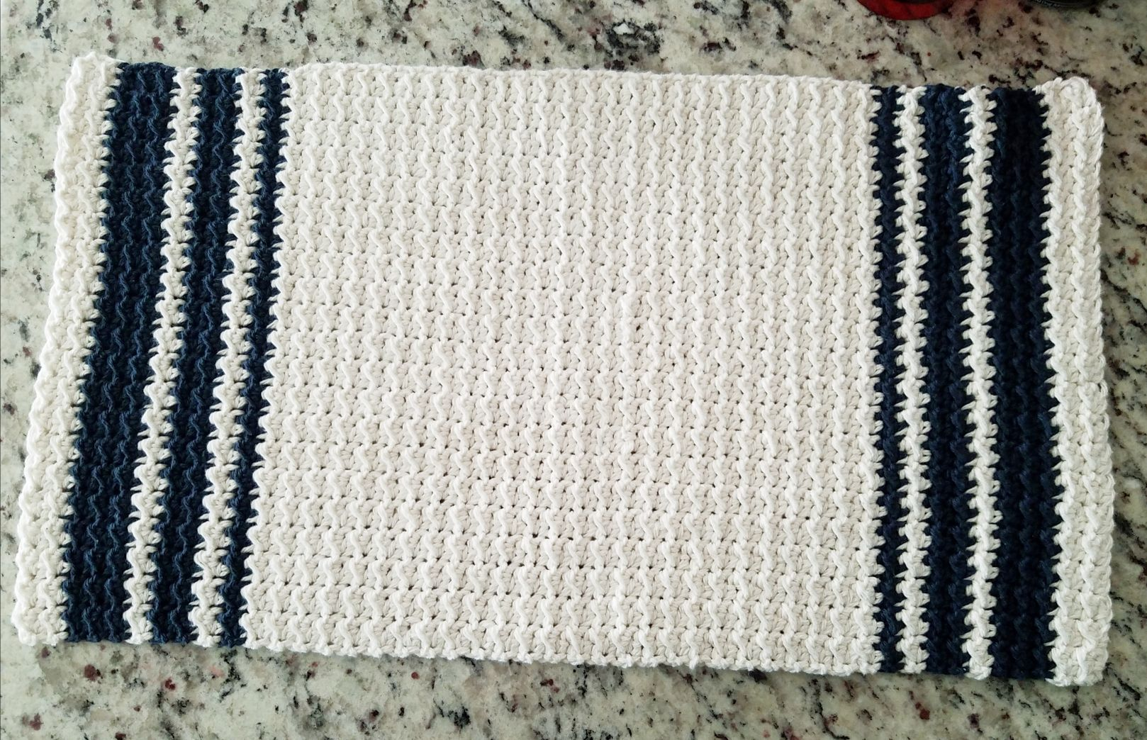 Farmhouse Hand Towel – Playin\' Hooky Crochet   Crochet Patterns ...