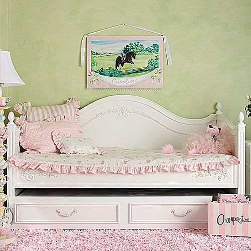Children's Bedding Bedding for Girls Shabby Posh Rose Daybed Bedding at  PoshTots - Daybed Covers Shabby Posh Rose Daybed Bedding And Nursery Kid