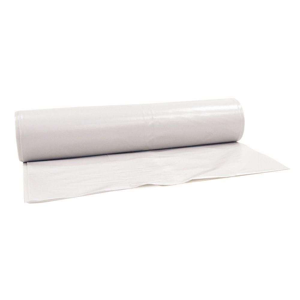 Hdx 10 Ft X 100 Ft Clear 4 Mil Plastic Sheeting Cfhd0410c The Home Depot In 2020 Plastic Sheets Plastic Film Plastic