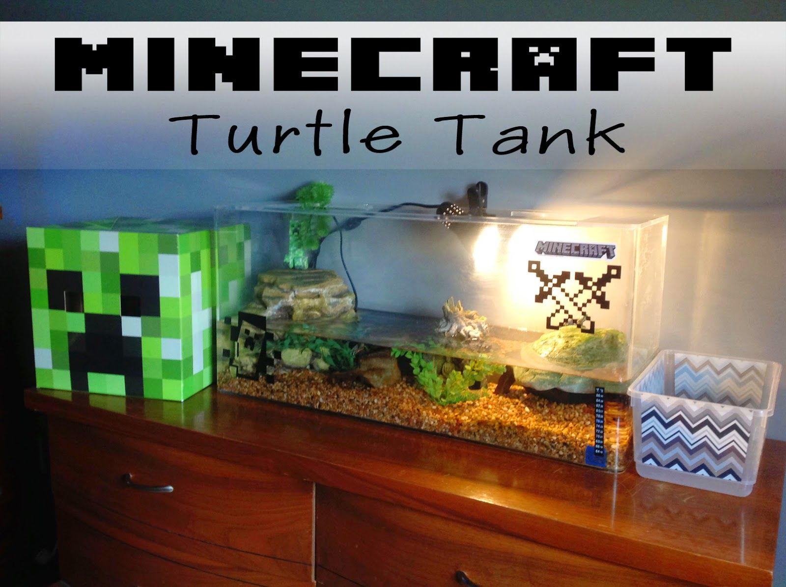 Terraria Birthday Party Turtle Tank Fun Diy Craft Projects