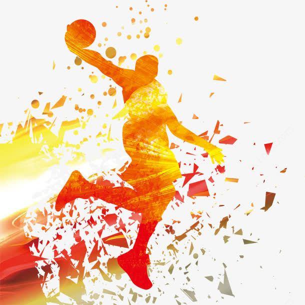 Basketball Silhouette Vectors Basketball Silhouette Silhouette Vector Basketball