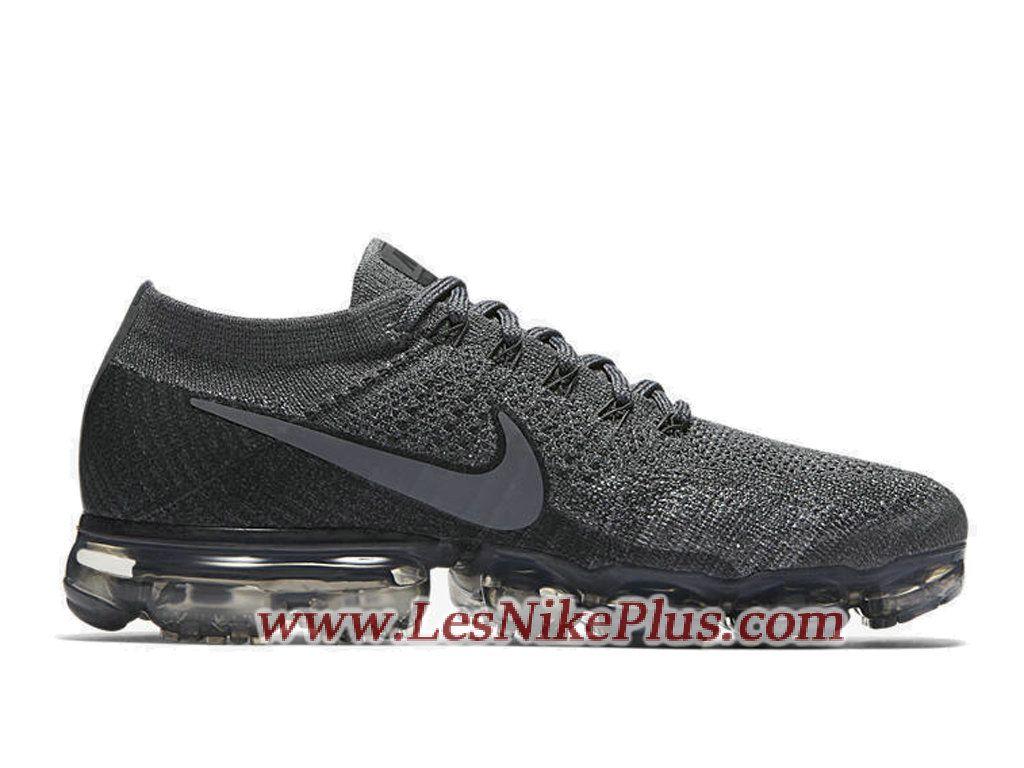 huge discount 74175 23344 Sneaker NikeLab Air VaporMax Flyknit Chaussures Nike 2018 Pas Cher Pour  Homme Gris 899473-005