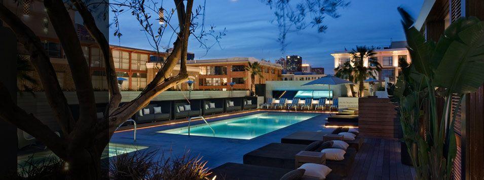 Hard Rock Hotel Sandiego Roof Top Pool San Diego Vacation San Diego Getaway San Diego