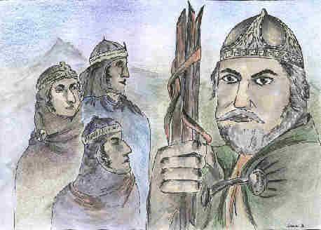 legende -tri prúty Svätopluk a jeho synovia