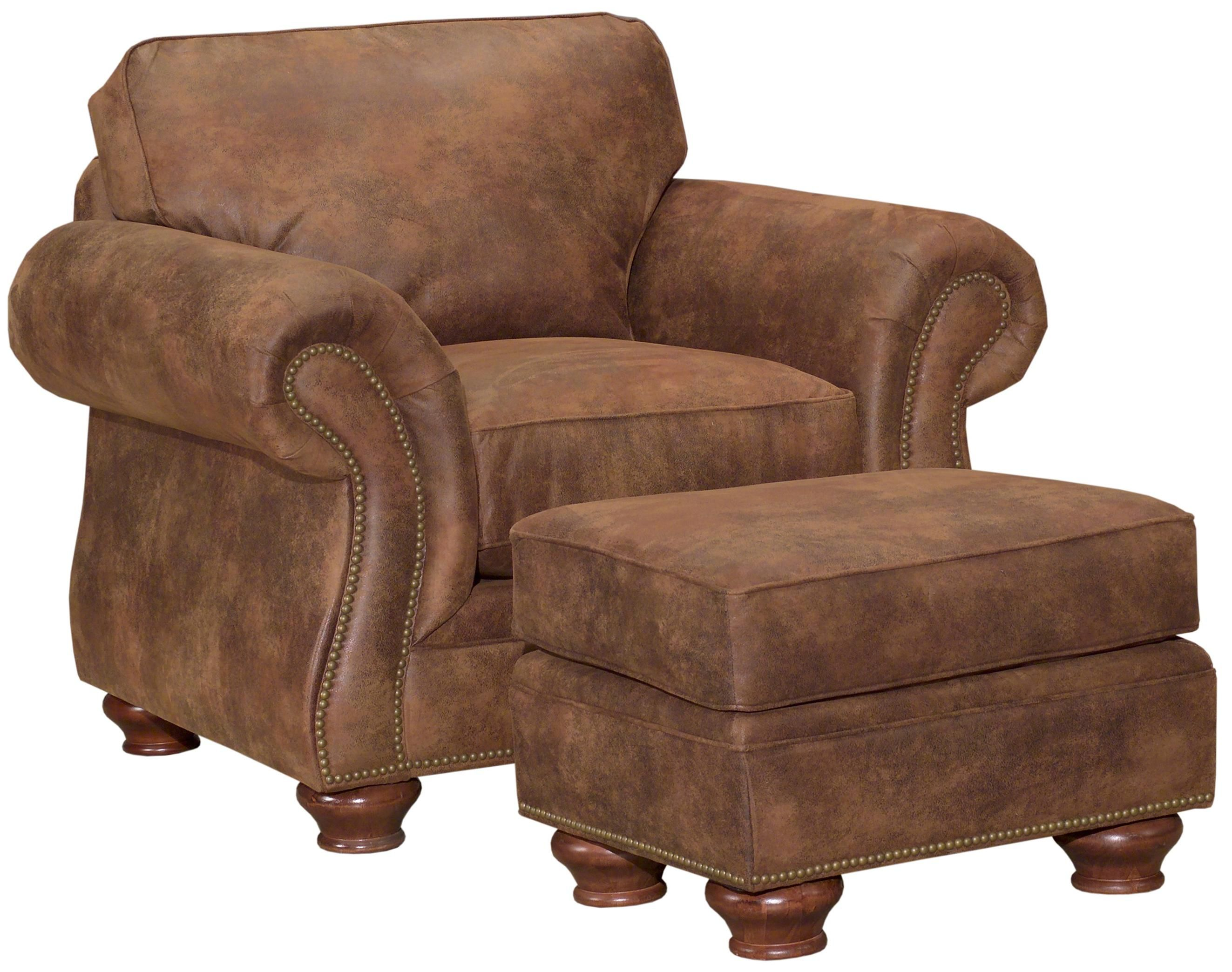 5081 laramie chair and ottoman set by broyhill furniture