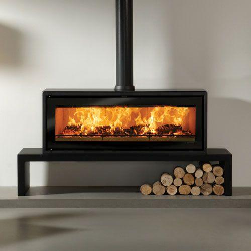 Riva Studio 3 Freestanding Wood Burning Stove Stove Fireplace