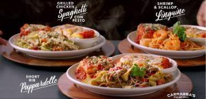 image about Carrabba's Coupons Printable referred to as Carrabbas Pasta Trio Exclusive My Printable Cafe