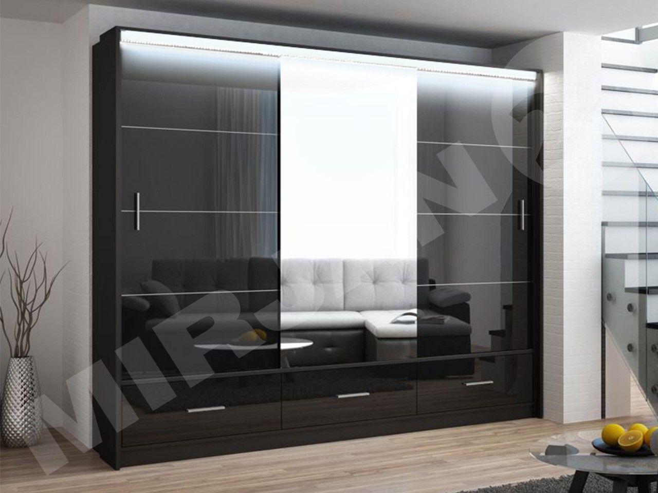 Schwebeturenschrank Ryslo 250 Wardrobe Interior Design Home