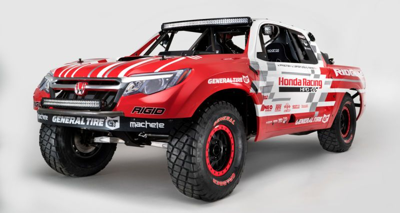 2017 Honda Ridgeline This Is It As A Full On Off Road Racing Machine