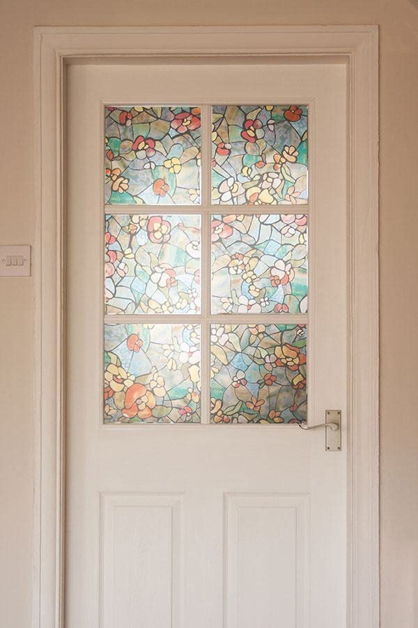 Venetian Garden Stained Glass Window Film Window Film World