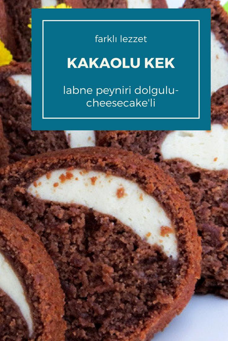 Puding Dolgulu Kakaolu Kek