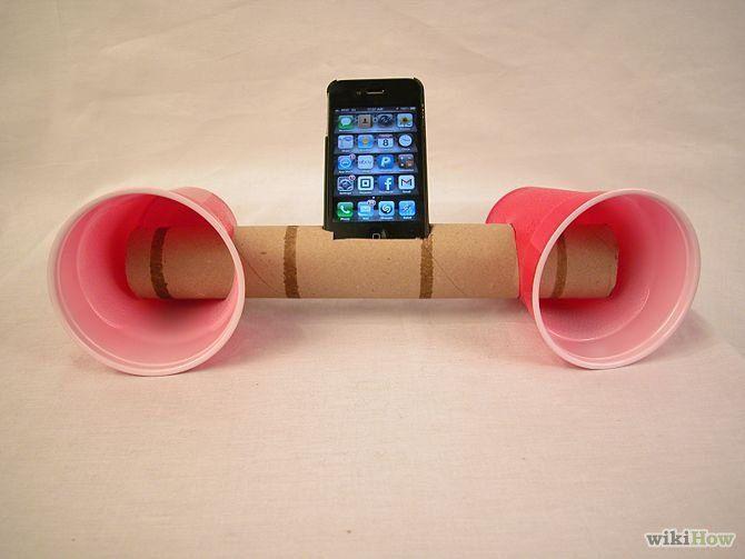 """Résultat de recherche d'images pour """"enceinte papier toilette"""""""