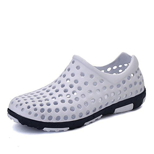 52b95f30115b25 Aleader Men s Slip On Garden Shoes Aqua Clogs Shoes