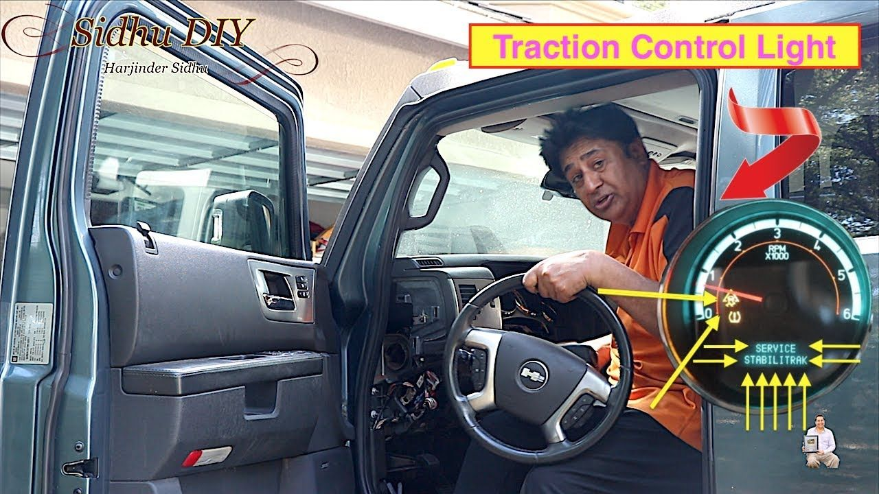 How To Fix Traction Control Light on HUMMER Fix it
