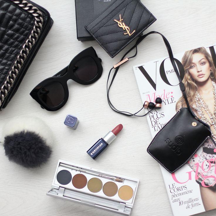 Bags essentials ysl card holder kryolan make up and