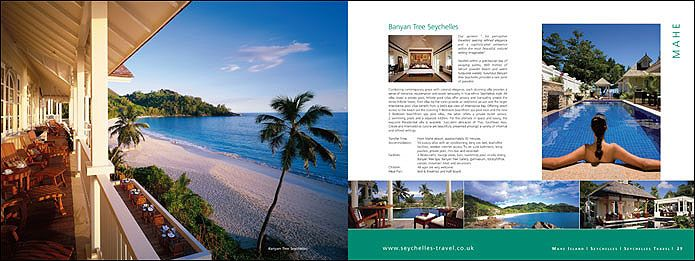 Seychelles Travel holiday brochure Work Pinterest Brochures - travel brochure