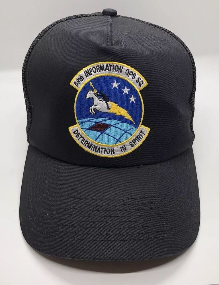 bf088f1c Details about 68th Information OPS SQ Network Warfare Cap Hat Adult Trucker  Mesh Snapback Poly | Hanks Corner Store / eBay | Caps hats, Hats y Snapback