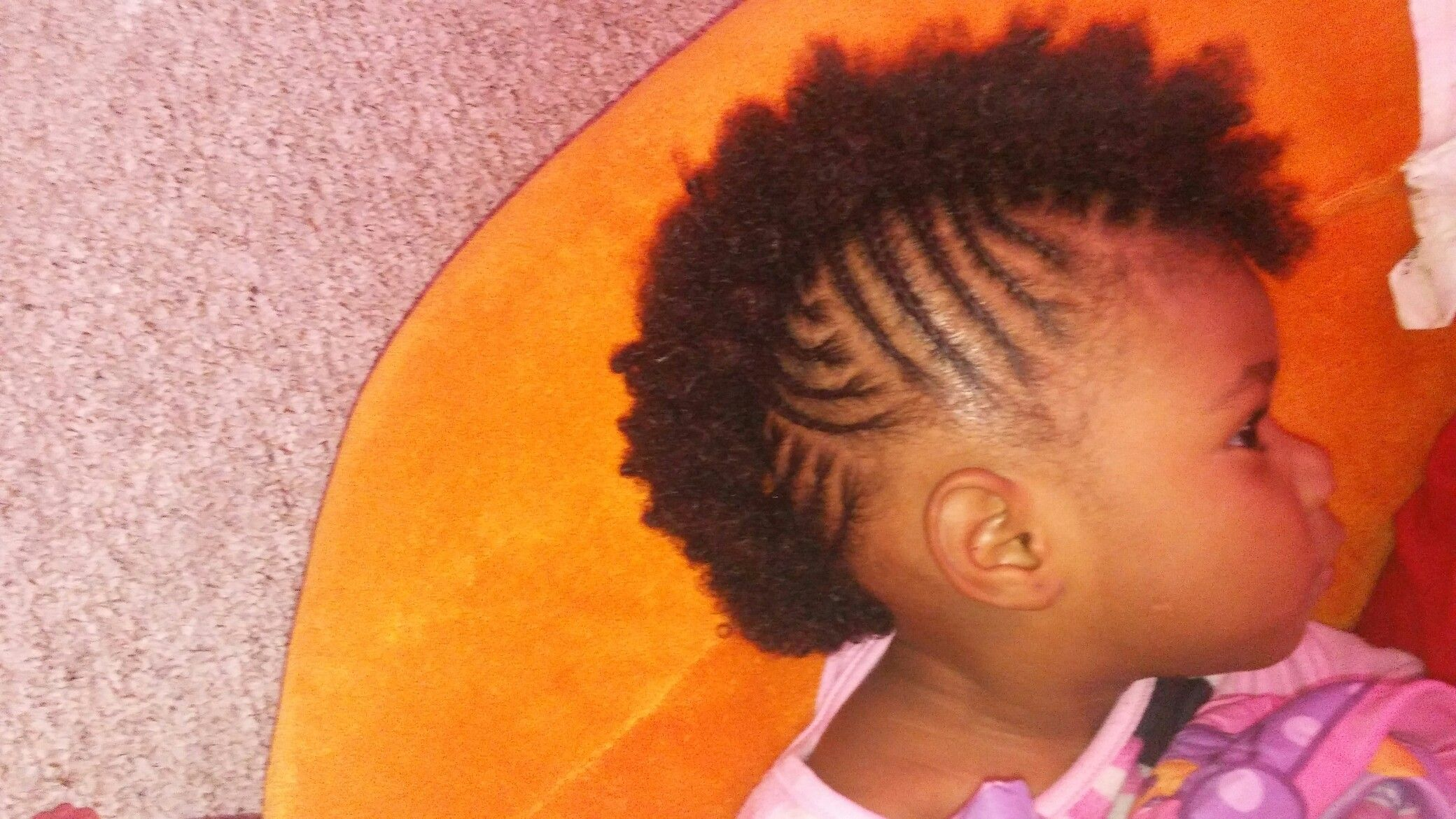 Side view kids braids mohawk health tips pinterest kid braids