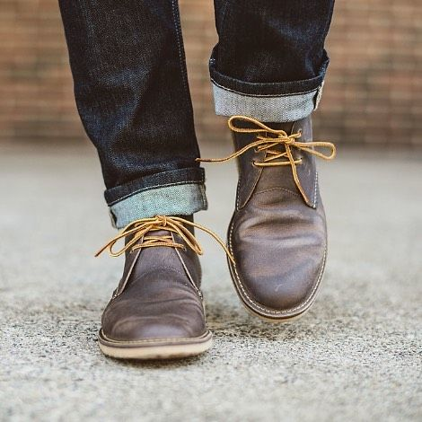 Built for comfort, the Weekender Chukka in Concrete Rough & Tough is  oil-tanned