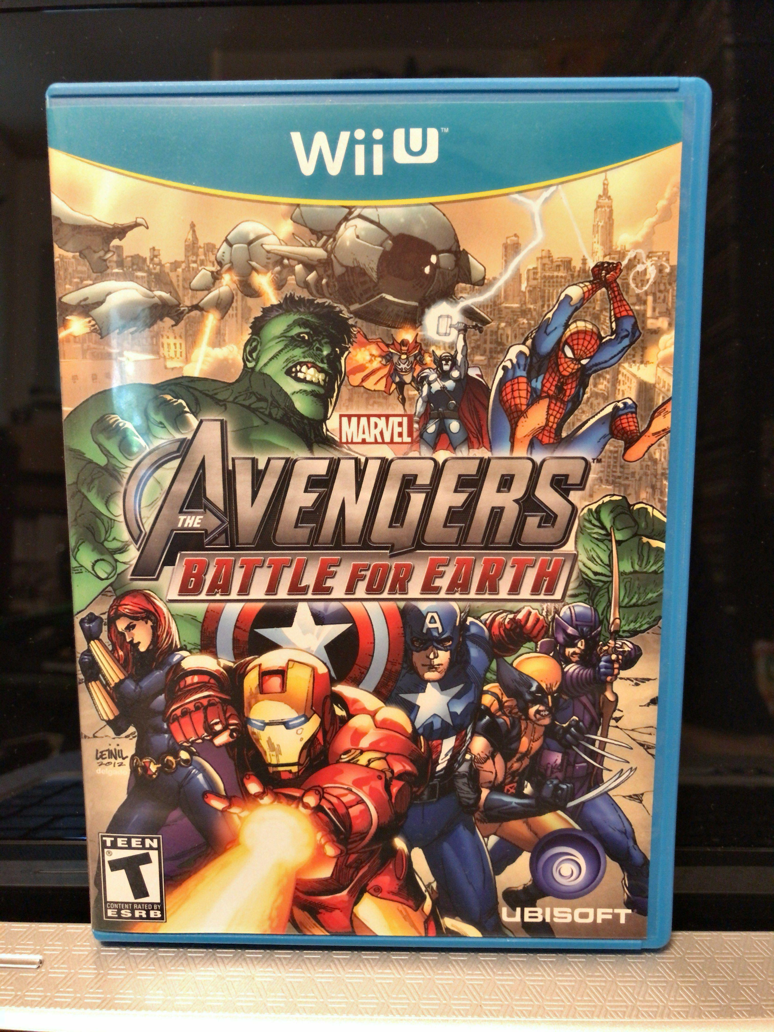 Nintendo Wii U The Avengers battle for earth Nintendo