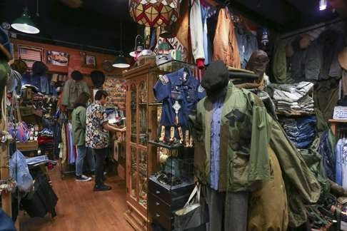 Second Hand Shopping In Hong Kong Midwest Vintage In Tin Hau Vintage Clothes Shop Vintage Clothing Stores Clothing Store
