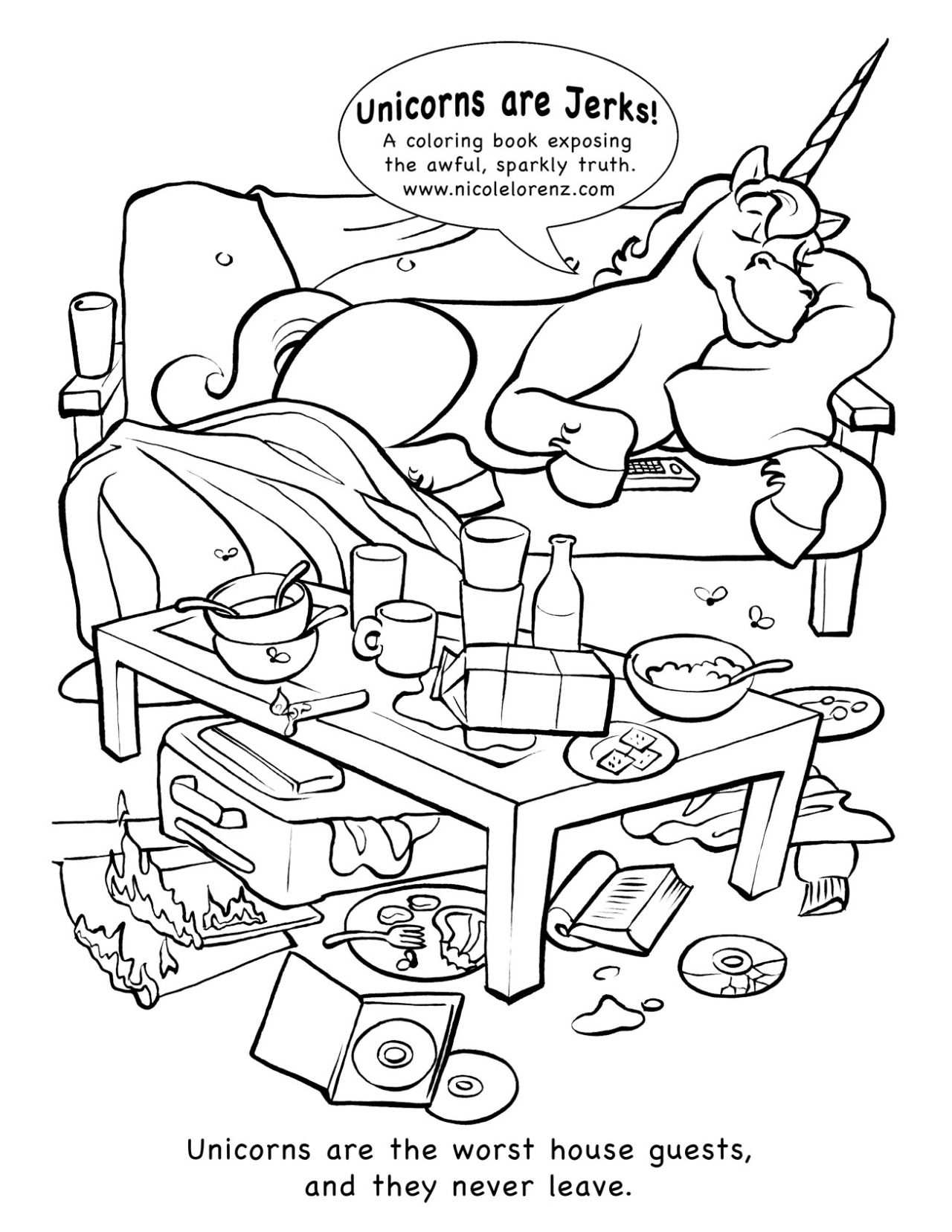 I Make Coloring Books Here Are Some Of My Favorite Pages From Each Book For