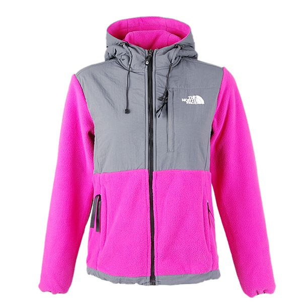 The North Face Denali Hooded Jacket Women Pink   Cheap north face jacket. The north face. North face jacket outlet
