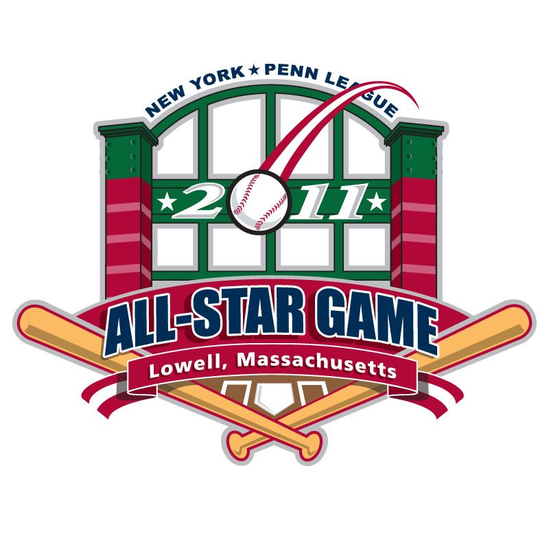 "Logo design submitted for a competition sponsored by New York Penn League (Single ""A"" Baseball)."