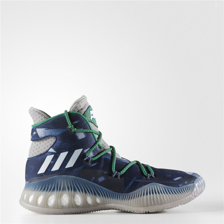 official photos 7992e f810e Adidas Crazy Explosive Shoes (Multi Solid Grey  Running White Ftw)