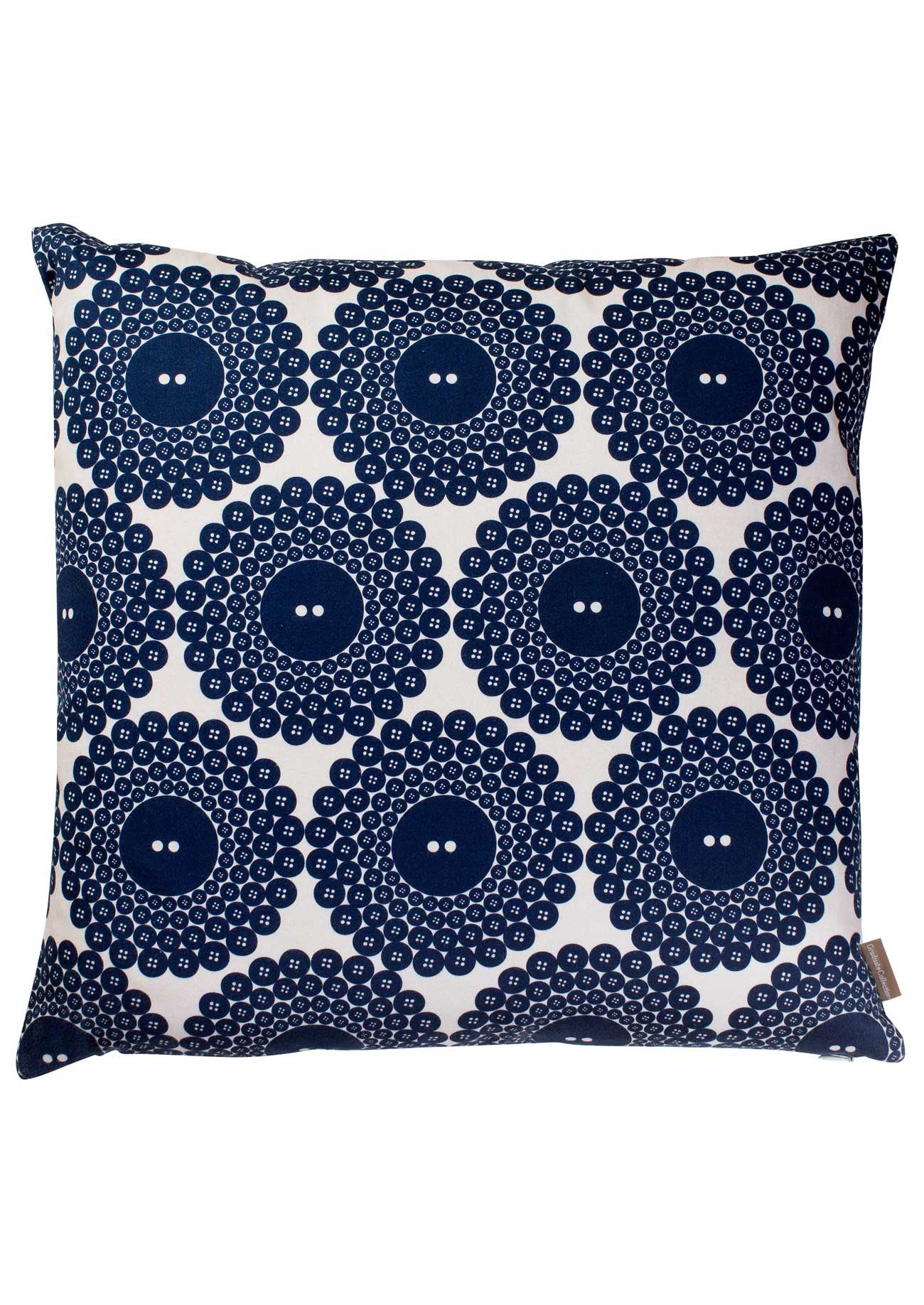 Our gorgeous graduate collection button print cushion designed by