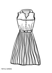 Disegni Di Moda Da Colorare.Disegni Di Vestiti Da Stampare E Colorare Gratis Portale Bambini Dresses Coloringpages Coloring Vestiti Disegni Vestito Abbigliamento