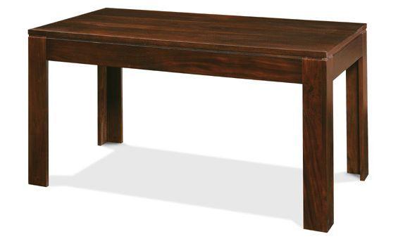 Mesa comedor en madera de caoba de medidas 200 cm x 100 cm ...