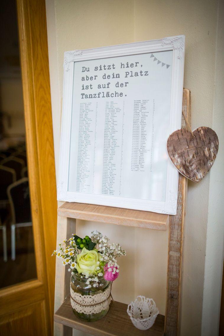 Tischplan * Dein Platz ist auf der Tanzfläche * | Hochzeit ...