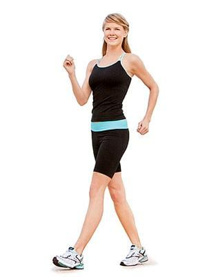 Get walking and burning with this weeklong plan designed to burn 1,300 calories and firm trouble zones that an average walk ignores. Boost your mood and burn major calories by simply getting your walk on.