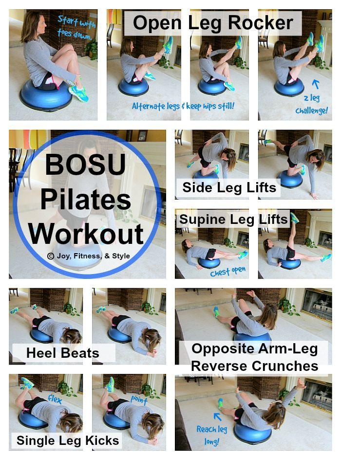 BOSU Pilates Workout #pilatesworkoutroutine