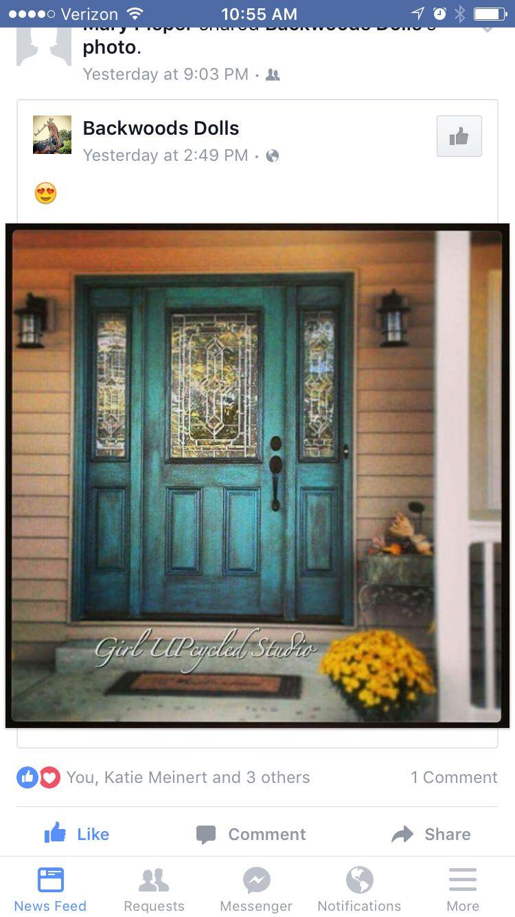 Love this doorway!