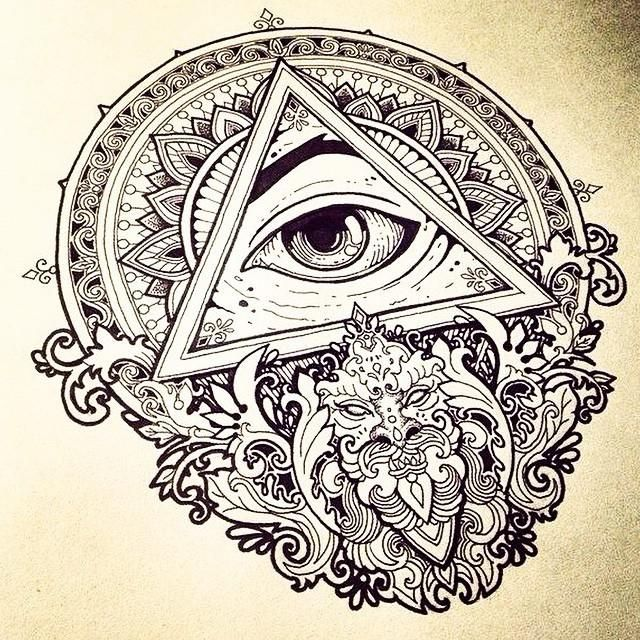 Account Suspended All Seeing Eye Tattoo Knee Tattoo Illuminati Tattoo