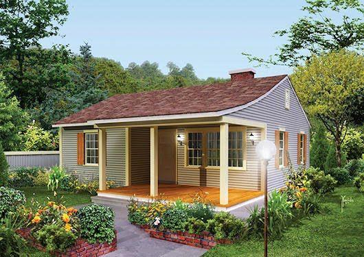 5 Espectaculares Fotos De Modelo De Casas De Campo Cottage Style Homes Ranch Style House Designs Cottage Style House Plans