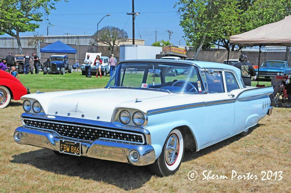 1959 Ford Fairlane 2 Door Post Classic Cars Pinterest 1950s Bumper