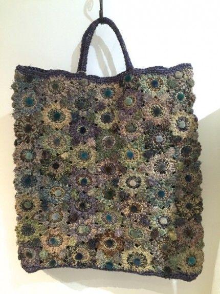 A bag by Sophie Digger / photo by Keiko Yoshiya
