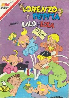 LALO Y LOLA. LORENZO Y PEPITA