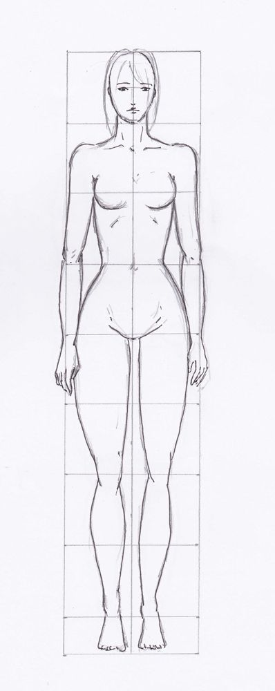 silhouette femme dessin