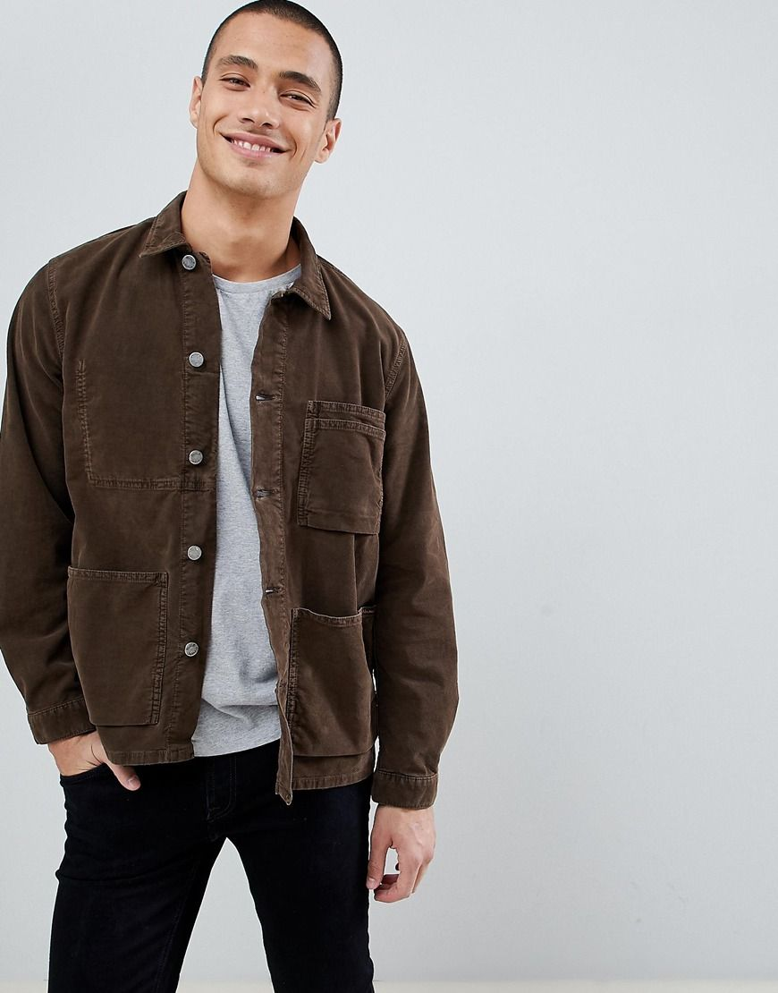 2ba158c03c9 Nudie Jeans Co Paul worker jacket available at ASOS