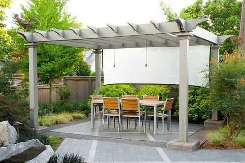 Shade Arbor Summer Garden Barbara Hilty Landscape Design Llc