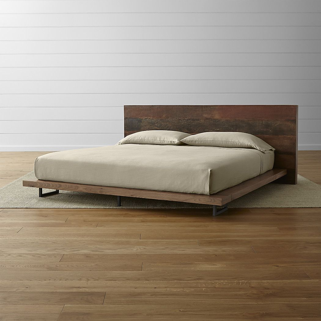 Best Atwood Reclaimed Wood King Bed Reviews Crate And 640 x 480
